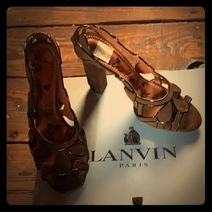 Lanvin High Heeled (beehive sandals)